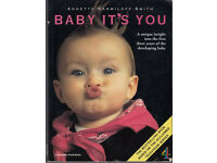 Baby it's You by Annette Karmiloff-Smith (book about baby). Good condition.