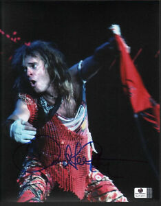 DAVID LEE ROTH HAND SIGNED 8X10 PHOTO