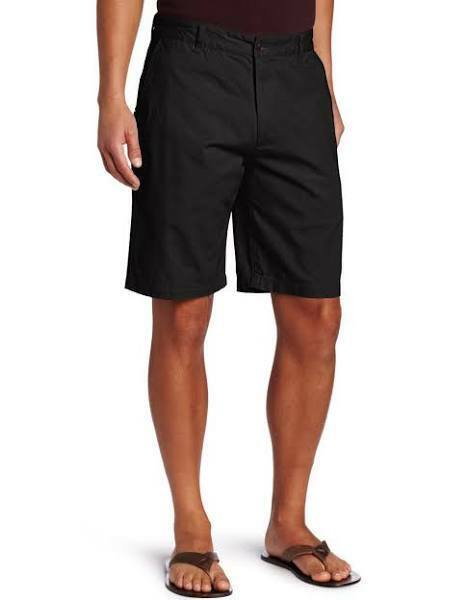 NWT Men Dockers Shorts 36 Flat Front The Perfect Classic Fit