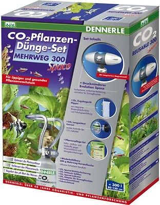2 Pflanzen (CO2 Pflanzen-Dünge-Set Mehrweg 300 Space)