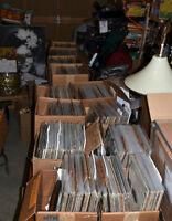 700 Vintage ROCK LP Records all Nearmint Bagged.