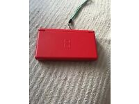 DS Lite Red with game!