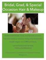 Special Ocasion Hair and Makeup Services