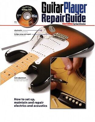 The Guitar Player Repair Guide 3rd Revised Edition Book with DVD NEW 000331793