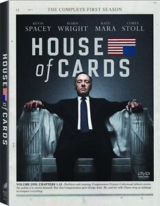 House of Cards Season one DVD