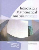 Introductory Mathematical Analysis (11th Edition)