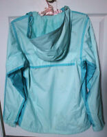 Columbia Jacket with Hoodie, Women's Baby Blue, Size Small