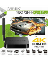 MINIX NEO X8-H Plus QuadCore XBMC 4K 5GHZ + Air Mouse 2.4ghz