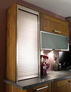 roller shutter for kitchen cabinets