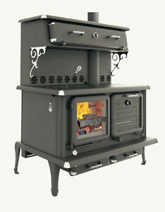 Canada's ONLY EPA High Efficiency CSA Certified Wood Cookstove