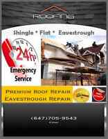 ROOF REPAIR (SAME DAY SERVICE ) 647 705 9543