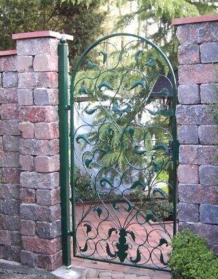 Garden Gates Door round Arch Lisbao-Rbgt 200/100S Fire Galvanised