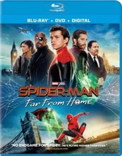 Spider-man-Far From Home Blu-Ray ONLY BRAND NEW Factory Sealed - FREE SHIPPING