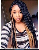 AFRICAN HAIRSTYLIST :box braids,crochet braids,cornrows etc