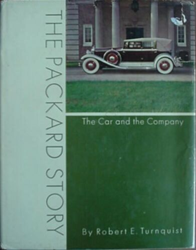 PACKARD AUTOMOBILE HISTORY, 1965 BOOK (THE CAR & THE COMPANY