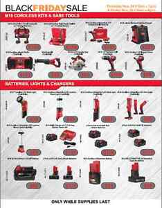 BLACK FRIDAY TOOL SALE - DEWALT - MILWAUKEE - MAKITA Sarnia Sarnia Area image 9