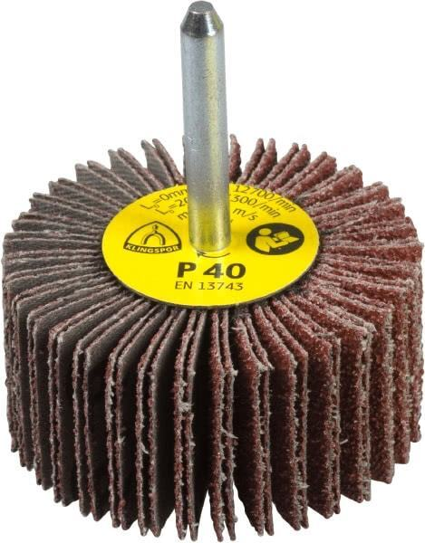 Abrasive Grinding Tool SNOWINSPRING 20 Pack Mounted Flap Wheel 80 Grit Aluminum Oxide Sanding Flap Wheels for Drill