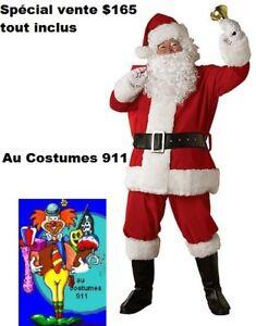 Costume de Père noel neuf à vendre ( tout inclus )