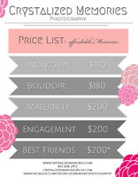 Beautiful Affordable Photography - 30+ Packages