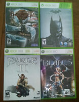 Bayonetta, Batman Origins, Fable II - Collection's Edition, Blad