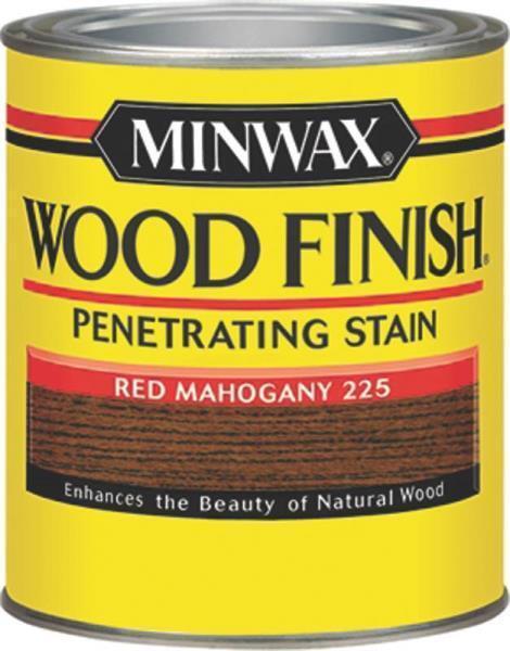 NEW MINWAX 22250 RED MAHOGANY INTERIOR OIL BASED WOOD FINISH STAIN 7969462