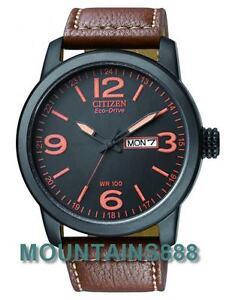 BM8475-26E,CITIZEN EcoDrive,WR100,ScrewCaseBack,Date/Day,LowChargeIndicator,Mens
