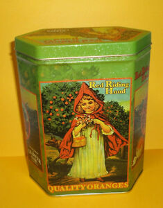 Red Riding Hood tin