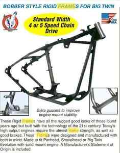 harley rigid frame brand new kraft tech