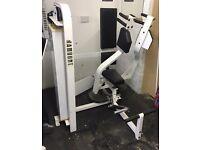 Commercial gym equipment pec deck