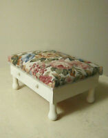 Upscaled Small Footstool with 2 Drawers