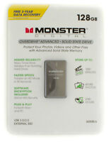 Monster Digital Overdrive 128GB USB 3.0 Solid State Hard Drive
