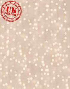CHRISTMAS PINK LIGHTS BOKEH KIDS BACKDROP BACKGROUND PHOTO 5X7 FT 150CMx220C