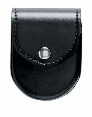 Safariland 190-9HS Black Hi-Gloss Hidden Snap Top Flap Chain Handcuff Pouch