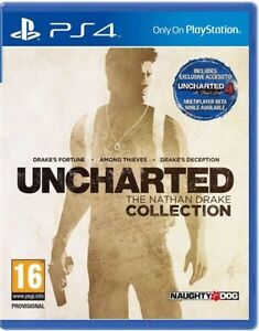"""Uncharted """"The Nathan Drake Collection"""" PS4"""