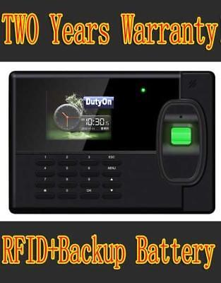 New Biometric Fingerprint Employee Pin Entry Time Clock