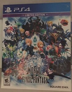 World of Final Fantasy Limited Edition PS4 Sealed