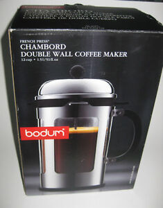 BODUM FRENCH COFFEE PRESS WITHOUT THE BEAKER Kitchener / Waterloo Kitchener Area image 2