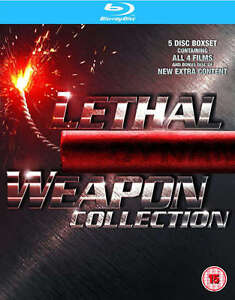BLU-RAY! LETHAL WEAPON COLLECTION BOX SET 4 MOVIES London Ontario image 1