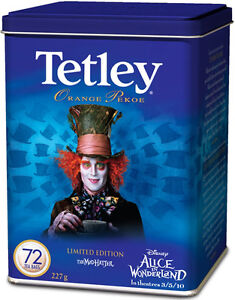 Mad Hatter Tetley Can