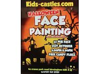 Halloween Face Painting £3 per face