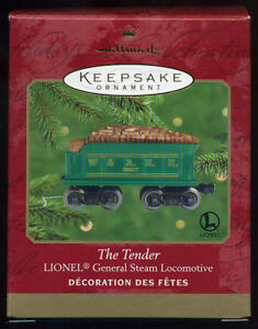Hallmark Keepsake Lionel General Steam Locomotive The Tender