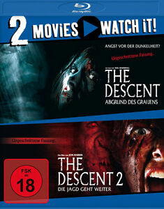 The Descent u. The Desenct 2 - 2 Movies - FSK 18 - Blu-Ray - NEU & OVP