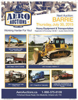 PUBLIC AUCTION! FEATURING HEAVY EQUIPMENT, TRUCKS, TRAILERS
