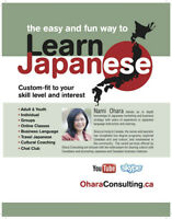Japanese Lessons-In Person & Online