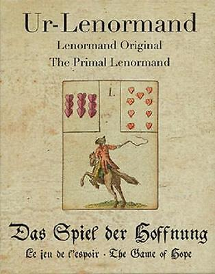 NEW Primal Lenormand-Ur-Lenormand Original-The Game of Hope Cards/Deck-Prophecy