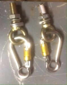 new 123 mm stainless steel carabiners  London Ontario image 1