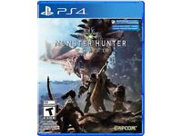 Monster hunter world PS4 £30