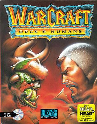 So fing in Azeroth alles an: Das erste Warcraft-Strategiespiel in der US-Originalverpackung von 1994. (© Blizzard)