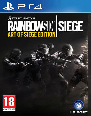 Tom Clancys Rainbow Six Siege - Art of Siege Edition für Playstation 4 PS4 [IT]