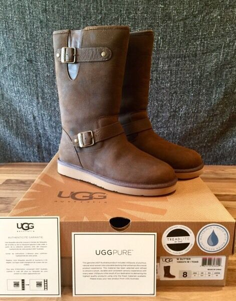 brand in box ugg boots rrp 240 sutter toast 6 in hull